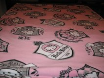 Hello Kitty fleece  blanket for a girl only 1 in Fort Bragg, North Carolina