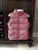 Girls Lands End Down Vest - Flower Pattern Size 5-6 in Plainfield, Illinois
