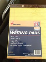 skillcraft writing pads 12pack in San Diego, California