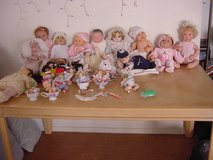 Assorted Dolls in Alamogordo, New Mexico