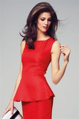 Brand New with Tag, Red Spot Peplum Top, Next in Lakenheath, UK