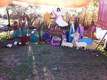 nativity scene in Fort Polk, Louisiana