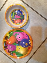 Backyardigans Plate and Bowl set in Naperville, Illinois