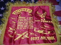ORIG. WW-2 ARMY AIR FORCE HOME FRONT PILLOW CASE for MOM in Camp Lejeune, North Carolina