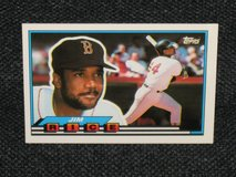 1989 Topps Jim Rice Baseball Card in Spangdahlem, Germany