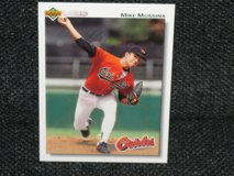 1992 Upper Deck Mike Mussina Baseball Card in Spangdahlem, Germany
