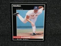 1992 Pinnacle Roger Clemens Baseball Card in Spangdahlem, Germany