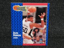 1991 Fleer David Robinson Basketball Card in Spangdahlem, Germany