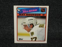 """1988 Topps Ray Bourque """"All Star"""" Hockey Card in Spangdahlem, Germany"""