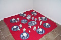 Churchill  China complete set of eight (8) made in England in Alamogordo, New Mexico