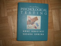 Psychological Testing Textbook in Ramstein, Germany