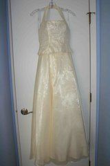 Pale Yellow Formal Dress by Zum Zum with Evening Bag in Glendale Heights, Illinois
