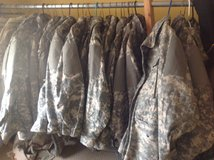 Acu field jackets in Fort Knox, Kentucky