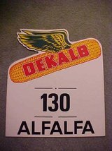 DeKalb Flying Ear Sign Alfalfa 130 VG Cond in DeKalb, Illinois