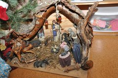 Nativity Scene handcrafted/ christmas crib in Baumholder, GE