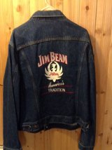 Hank Williams Jr. Jim Beam Jean Jacket in Tinley Park, Illinois