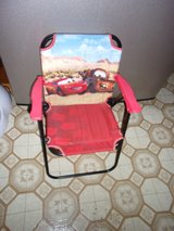 DISNEY CARS FOLDING CHAIR in Fort Hood, Texas