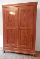 Mid 1800s Antique Closet with Sliding Wedge Construction in Ramstein, Germany