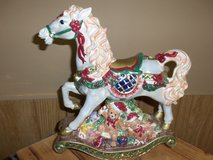 Large Decorated Rocking Horse in Belleville, Illinois